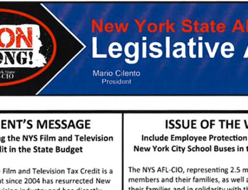 NYS AFL-CIO LEGISLATIVE ALERT 3-8-19 (EPP UPDATE)